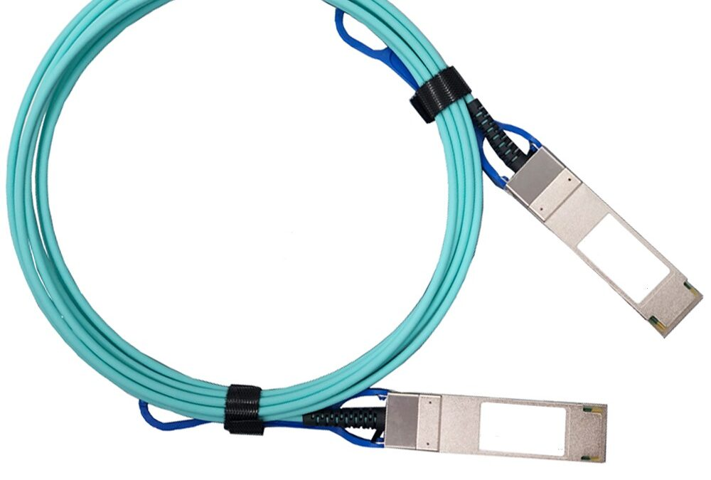 Generic and 56GBase-AOC QSFP+ to QSFP+ Active Optical .
