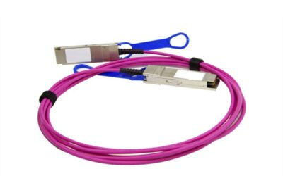 100G QSFP28 OM4 2m AOC Cable, QSFP28 to QSF28 active optical cable