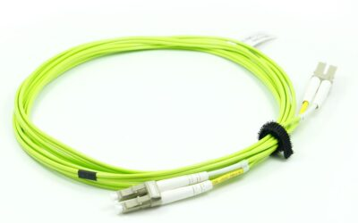 LC/UPC-LC/UPC Duplex 2.0mm OM5 3M PVC/LSZH 2MM Fiber Optic Patch Cord