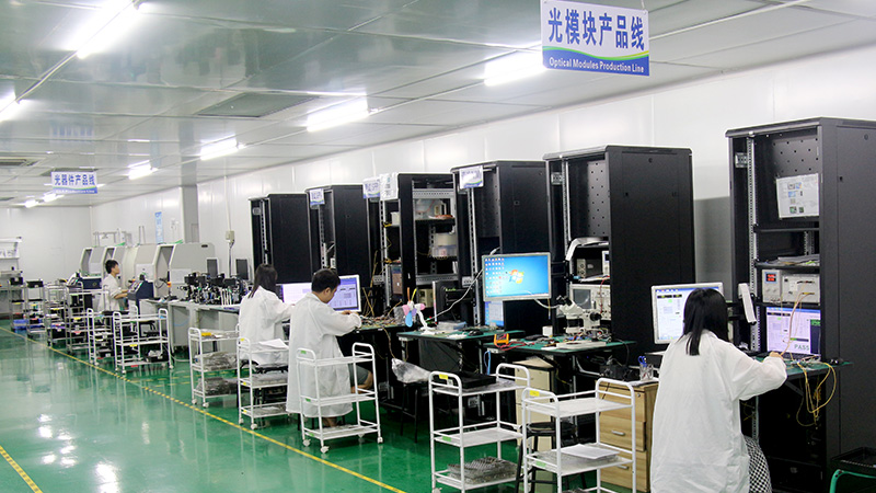 What equipment is needed for optical module testing?